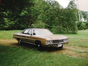1971 Chevrolet Impala sedan - $12K