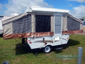 2011 PALOMINO P280 POP UP TENT TRAILER