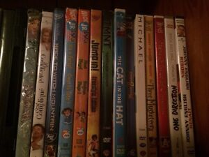 280 DVDs for sale. $4 each