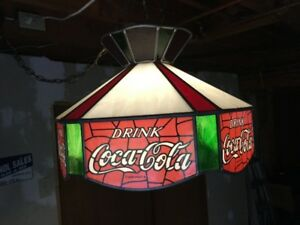 Stained Glass Coca Cola Light