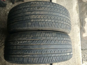 2 PNEUS / 2 ALL SEASON TIRES  205/55/16 NANKANG REMEX