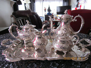 Stunning Tea/Coffee set With ADDITIONS'   REDUCED $400.00