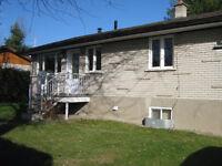 Maison à louer Terrebonne (possibilité option d'achat)