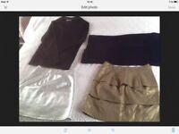 Size 8-10 Bundle BOOHOO MISSPAP RI & M&S 4 items 1 price