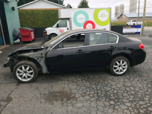 G35-G37 Part-out