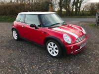 2004 Mini Mini 1.6 Cooper *Red and White, Glass roof*
