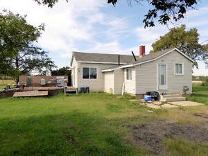 Affordable 10 acres with home!