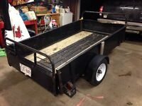 4.5 by 8 foot utility trailer!!!$700
