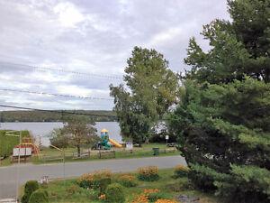 Maison-chalet lac magog
