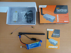2500mW 2.4Ghz long range FPV signal booster kit for drones