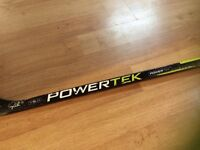 Used PowerTek hockey stick