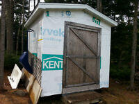 8x8 storage shed 3yrs old