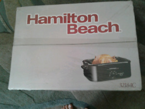 Hamilton Beach Buffet Roaster Oven