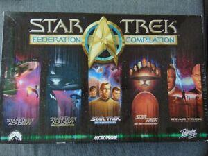 Star Trek federation compilation PC game