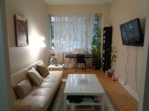 41/2  unfurnished apartment downtown-lease transfer