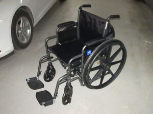Almost new...WHEELCHAIR