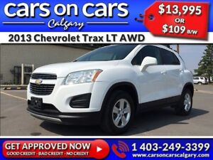 2013 Chevrolet Trax LT AWD $109B/W INSTANT APPROVAL, DRIVE HOME