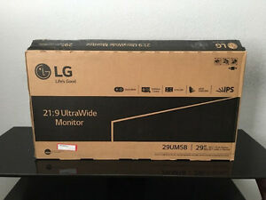 "LG 29UM58-P 29.0"" 2560x1080 75Hz UltraWide 21:9 IPS LED Monitor"
