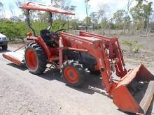 Kubota L3400, 4WD with Front End loader and Slasher. Bluewater Park Townsville Surrounds Preview