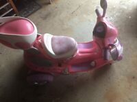 Princess Battery Scooter