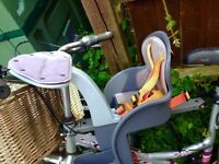 Weeride child's bike seat for front good full work condition