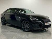 2018 Lexus IS 300 F Sport Saloon Petrol Hybrid E-CVT (s/s) used cars Auto Saloon