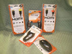 FIBER OPTIC & HDMI CORDS