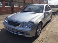 Bargain mercedes c180 kompressor Classic SE auto low miles long MOT no advisories
