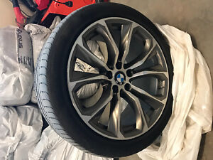 2015 BMW X6 50i Wheels (Tires and Rims) - 20""