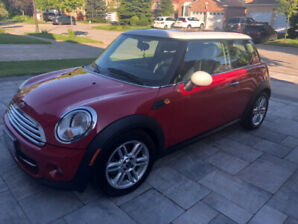 Red Mini 70000km