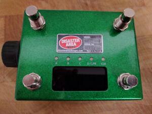 Disaster Area Designs DMC-4 Gen-3 pedal; MIDI-control fx pedals