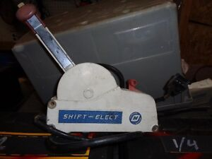OMC electric shift control box
