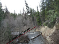 Placer gold claim on Tranquille river (Kamloops) Reduced!