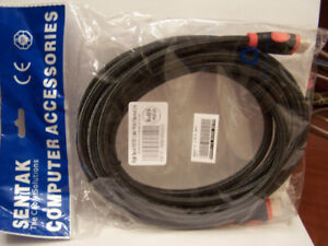 Brand New HDMI Display Port Cables 15 Ft.