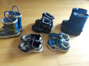Size 7 baby boy footwear for sale