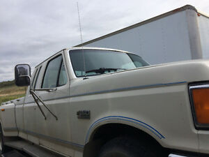 RETRO 1987 250 FORD DUALLY NOT RUNNING CHECK OUT CJAY REDNEKS