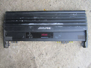 1000 watt Alpine amplifier