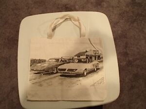 1970 Plymouth Sperbird and Dodge Daytona Tote Bag - New Sarnia Sarnia Area image 1