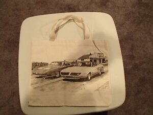 1970 Plymouth Sperbird and Dodge Daytona Tote Bag - New