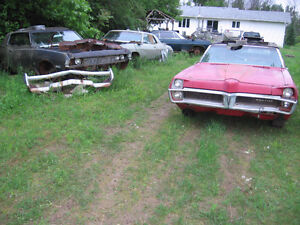 1967-70 Pontiac Parisienne , 2+2 , GP parts for sale