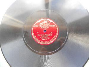 HIS MASTER'S VOICE 78rpm record - Feodor Chaliapin