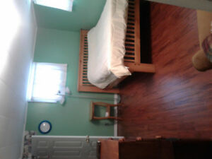 Large furnished room for rent as of Sept 1.