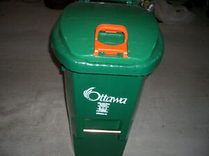 Green Recycling Bin on Wheels - Full Size and Brand New