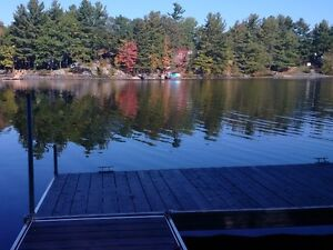 Waterfront Lot - 4-season access, cleared site, driveway & dock
