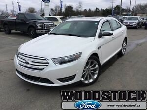 2016 Ford Taurus Limited  CERTIFIED PRE OWNED 3.99% INTEREST UP