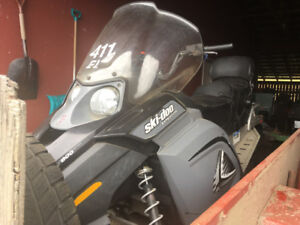 2007 ski doo expedition 800 4 stroke with trailer