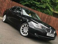 **AUTOMATIC** BMW 5 SERIES 525D SALOON FULL SERVICE HISTORY LONG MOT