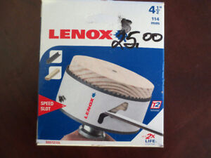 "Brand new Lenox Hole saw 4 1/2"" made in USA"