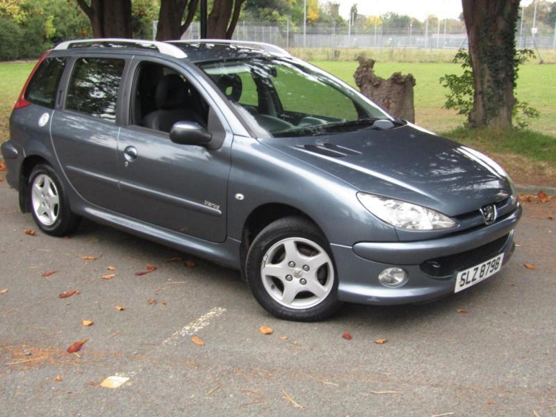 Peugeot 206 SW 1.4HDi Verve**SUPER LOW MILEAGE ESTATE CARS**£30 TAX ...