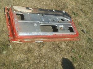 Original left side used door from a 1963-66 Dodge Dart (D-001) Belleville Belleville Area image 2